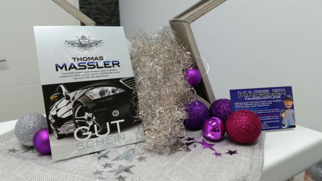 Geschenkidee: Gutschein von Fahrzeugpflege Massler