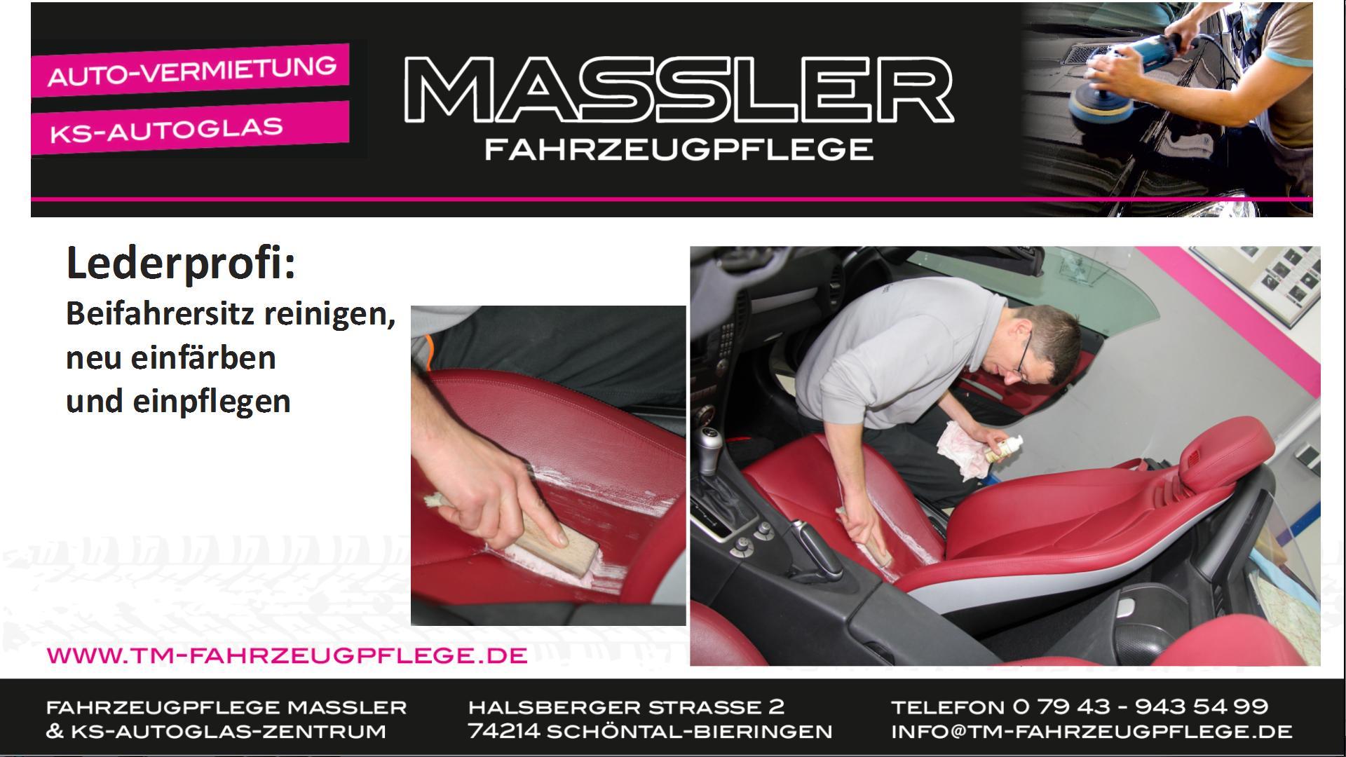 Lederprofi bei Fahrzeugpflege Massler