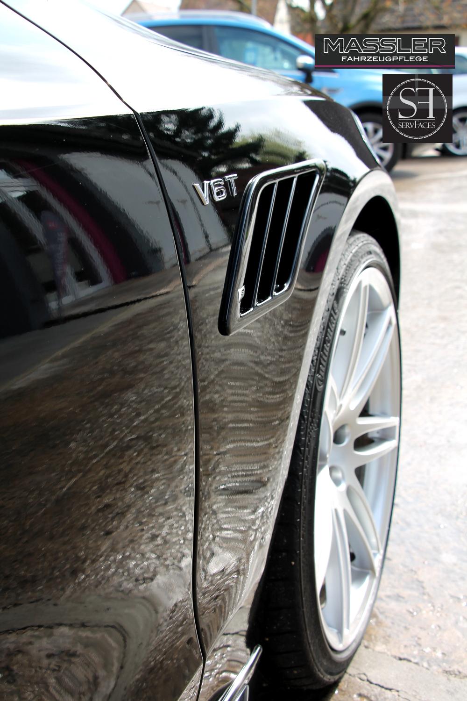 AUDI S5 Cabrio ABT Sportsline mit einer Schicht servFaces Suave versiegelt - TM-Fahrzeugpflege