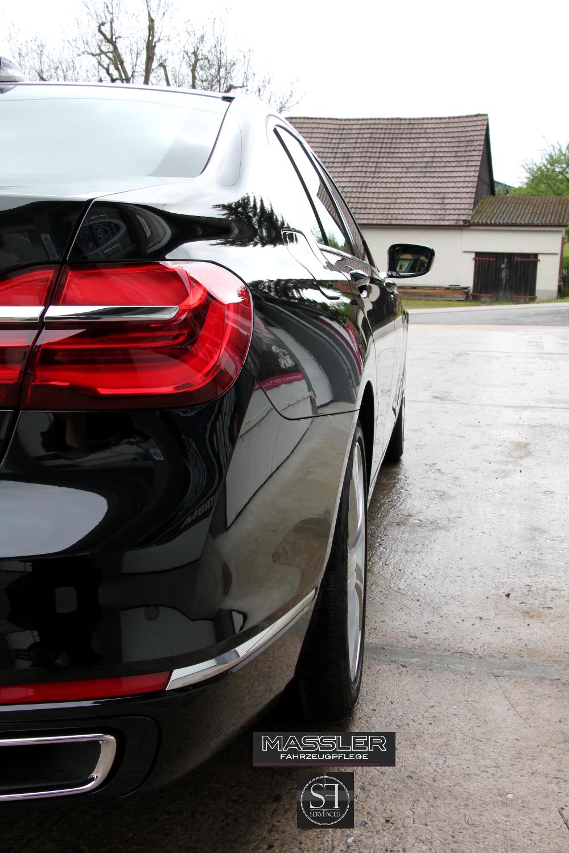 BMW 7er mit einer Schicht servFaces Suave und einer Schicht servFaces Final versiegelt - TM-Fahrzeugpflege