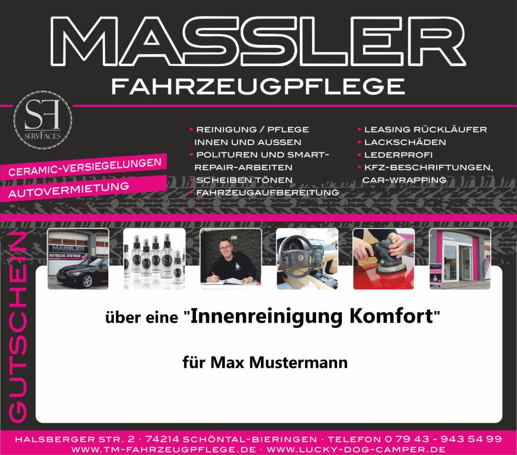 Gutschein TM-Fahrzeugpflege